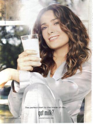 salma H got milk