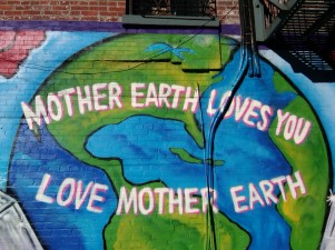mother earth loves you